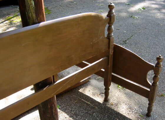 Pleasant Build A Garden Bench From A Bed Pdpeps Interior Chair Design Pdpepsorg