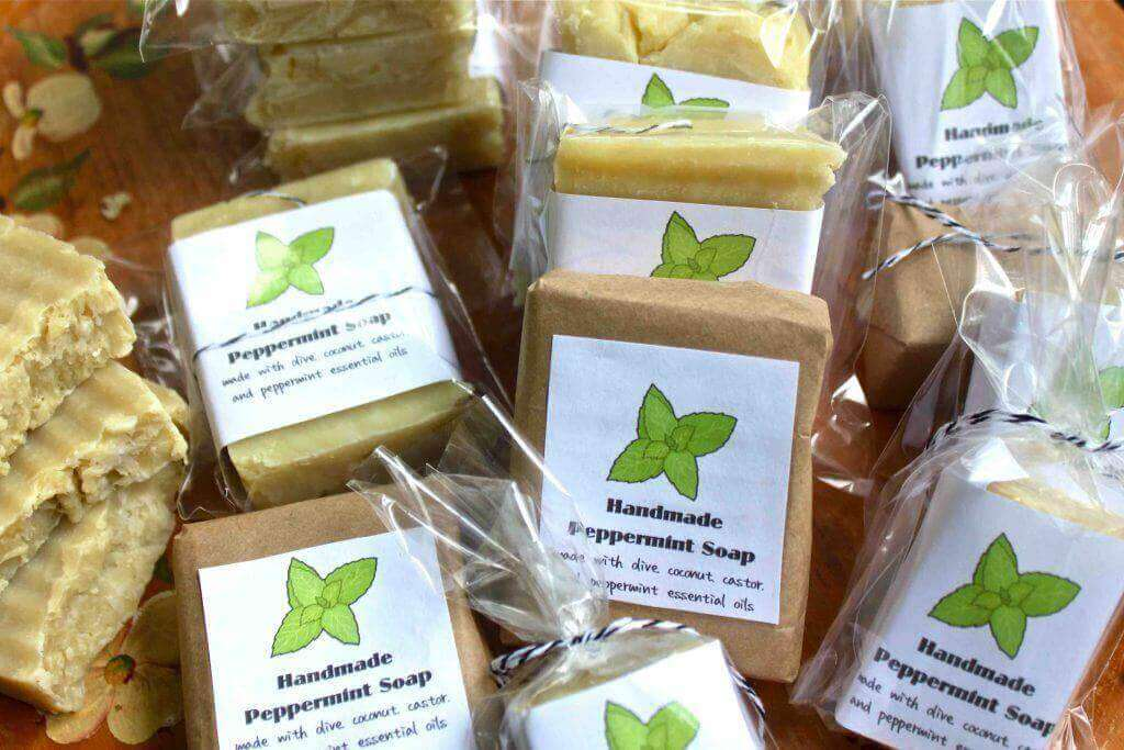 the ways to package soap are unlimited