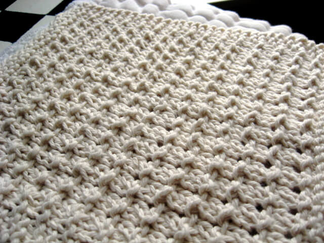Knitted Pebble Wash/Dishcloth | Little House in the Suburbs