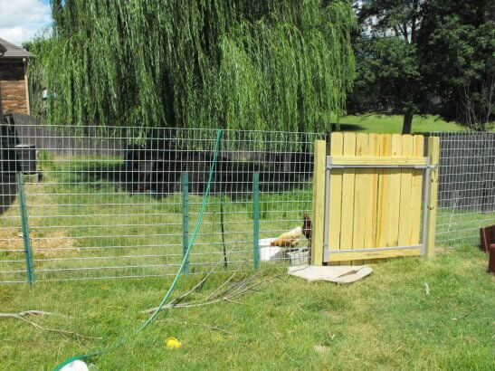 How Not To Make A Goat Fence